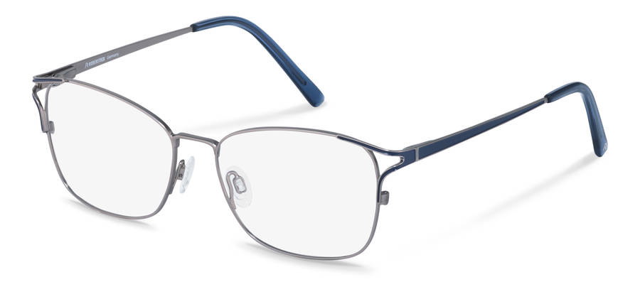 Rodenstock-Monture de correction-R2634-lightgun/darkblue