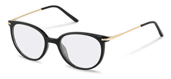 Rodenstock-Korrektionsfassung-R5312-black, light gold