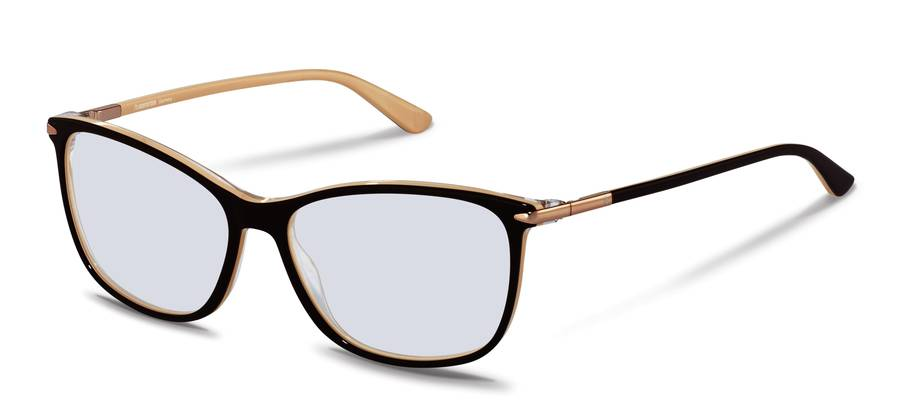Rodenstock-Monture de correction-R5335-brownbeigelayered/rosegold