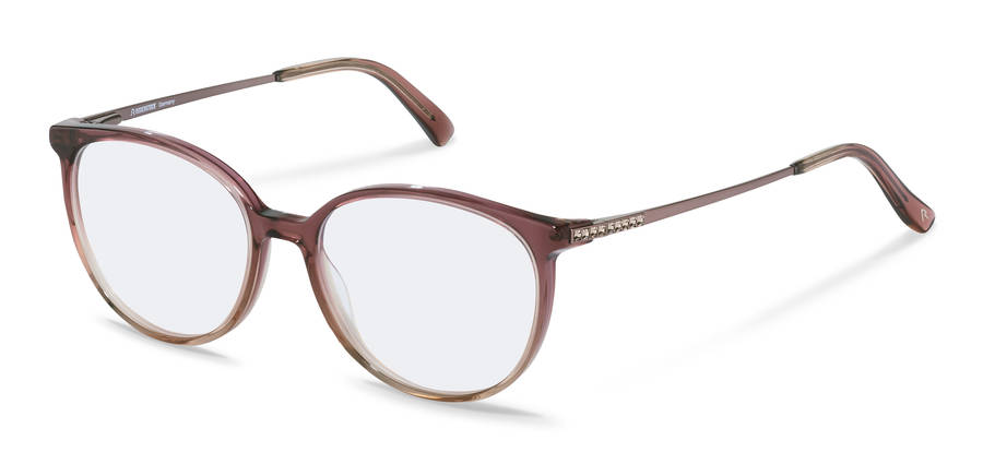Rodenstock-Monture de correction-R8027-bordeauxbeigegradient/rosegold