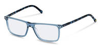 rocco by Rodenstock-Korrektionsfassung-RR437-blue transparent, blue structured