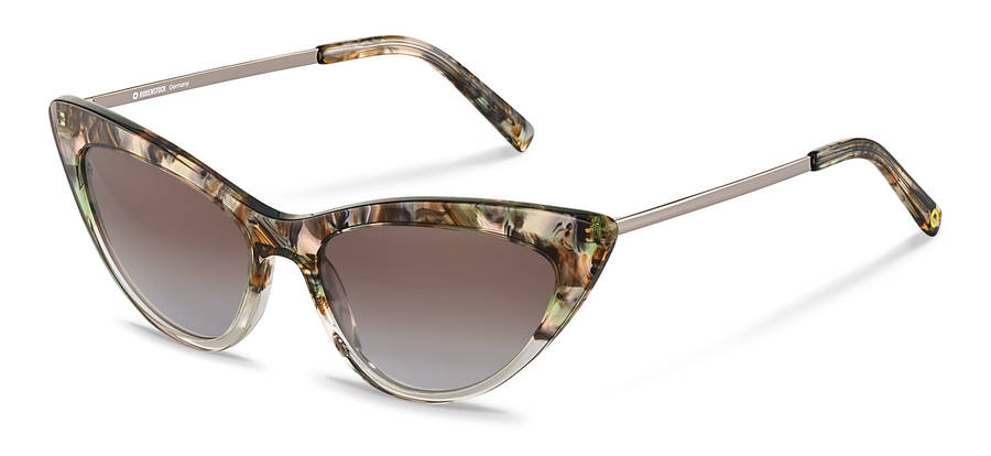 Rodenstock Capsule Collection-Sonnenbrille-RR336-greenrosestructured/darkgun